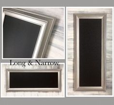 1000 images about decorative chalkboards mirrors on for Long narrow mirrors for sale