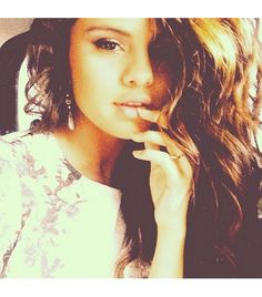 @Who What Wear - Selena Gomez                 That one time I had ma Latina texture going on.. Or just.. everyday.    FOLLOW: @Selena Gomez