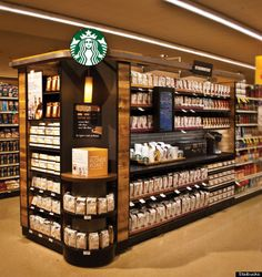 Starbucks' signature aisles soon to hit grocery stores