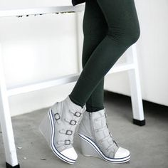 Buy '59 Seconds – Wedge Sneaker' at YesStyle.com plus more Hong Kong items and get Free International Shipping on qualifying orders.