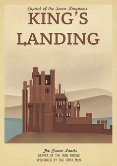 19 Travel Posters Of Your Favorite Imaginary Locations- Fun book project!
