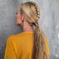 Braided Hair Ponytail - Hairstyles and Beauty Tips
