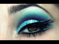 Peacock Makeup iwanted2c1video  Published on Apr 23, 2013