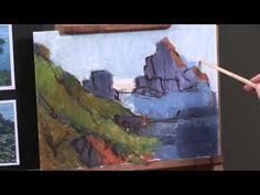 Preview The Secret to Oil Painting with Light & Color here now for color mixing and oil painting tips you can apply to your own work right away. Then visit http://ArtistsNetwork.tv for access to the full-length video and enjoy this comfortable, easy pace to painting.
