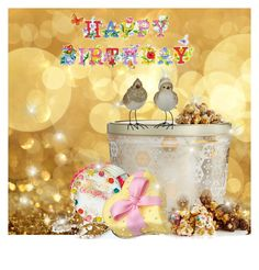 """Happy Birthday to My November Polyfriends!"" by vittorio-1 ❤ liked on Polyvore featuring art"