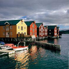 This is Namsos, where my cousin Arnt lives (JK)