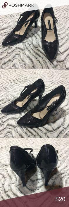 607ae92838bcf9 DANA BUCHMAN Heels Gorgeous never worn Dana Buchman heels. These sexy heels  are dark gray