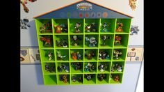 Love this Skylander Storage Shelf