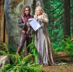 Robert & Jennifer as Rumple & Emma