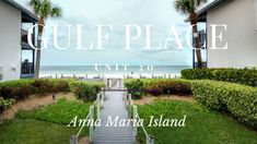 💙Be the FIRST to stay at our new property!💙 Gulf Place is perfectly placed so all units have a great view. Check out the beautiful Beach and pool view from this new unit. Number 22, Holmes Beach, Anna Maria Island, New Property, Heated Pool, Gulf Of Mexico, Queen, Tropical Decor, White Sand Beach