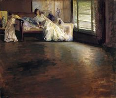Across the Room, ca. 1899 - Edmund Charles Tarbell