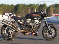 Racing the Harley-Davidson XR1200