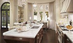 Kitchen Inspiration #cabinets #white