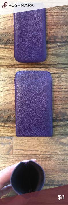 Sena leather case ultra thin purple Sena leather case ultra thin purple Accessories
