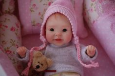 OOAK Polymer Clay Baby Nancy by Tatyana
