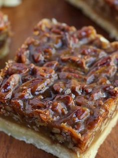 Pecan Squares Ina Garten's Best Christmas Recipes of All Time via @PureWow
