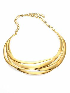 Kenneth Jay Lane - Cutout Collar Necklace - Saks.com