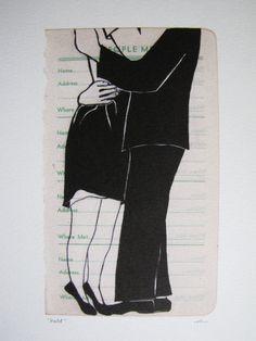 you sentimental idiot, art by rikkianne van kirk