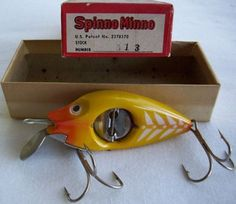 Fishing Lure For Bass Fishing Lures And Hooks Best Fishing Boats, Fishing Box, Vintage Fishing Lures, Fishing Knots, Crappie Fishing, Fishing Reels, Fishing Tackle, Fishing Tips, Bass Fishing