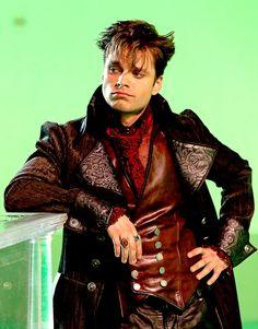 Sebastian Stan as hatter