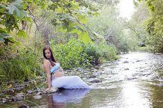 Maternity River - Jane Frances Photography