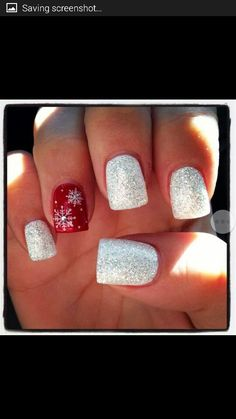Love things the glimmer, gleam and sparkle! Red and white