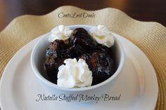 Nutella Stuffed Monkey Bread recipe