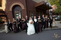 Wedding in Jim Thorpe - Photo at the Mauch Chunk Opera House courtesy of Connor Portraits