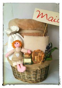 Cesta de nacimiento para Maia #regalosparabebes Www.Estilazo.com