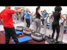 ▶ Good Vibes Power Plate Class - YouTube