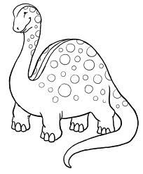 Large Dinosaur Coloring Pages