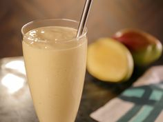 Mango-Cardamom Buttermilk Smoothie recipe from Bobby Flay via Food Network