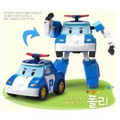 Robocar Poli -Korean Made TV Animation Toy-Police Car- Poli/Poly (Transformer)