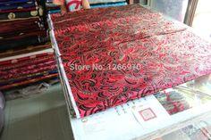 eda15aefe chinese silk brocade woven damask damask fabric cheongsam cushion red back  peas flowers