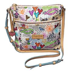 Your WDW Store - Disney Dooney & Bourke Bag - Sketch - Nylon Crossbody This is the pattern I want