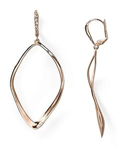Alexis Bittar Sculpted Aura Teardrop Leverback Earrings | Bloomingdale's