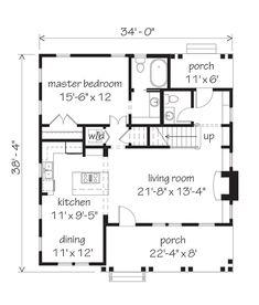 The Cherry Hill. Main floor 1048 sq. ft., upper floor 476 sq. ft.