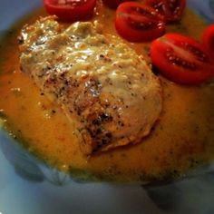 Swedish Diet - Eating Fat Makes You Skinny: Creamy Saffron Chicken