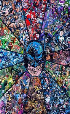 Art Batman DC Superhero Comic Collage Movie 18 Poster New Gift Dc Comics, Heros Comics, Batman Comics, Batman Y Robin, Batman Dark, Im Batman, Lego Batman, Comic Collage, Comic Art