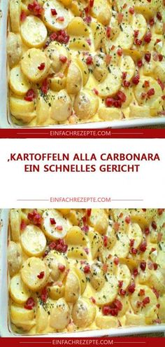 Potatoes alla carbonara, a quick dish 😍 😍 😍 gerichte meat cuts dishes loaf recipes Berry Smoothie Recipe, Easy Smoothie Recipes, Healthy Snacks, Healthy Recipes, Snacks Recipes, Healthy Cooking, Grilled Fruit, Cookout Food, Food Shows