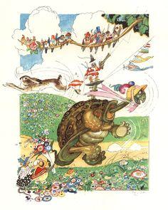Charles Vess & Greenman Press » 10 artists that I like: #2 Felix Lorioux