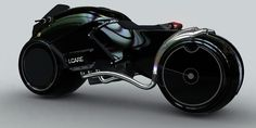 It's like a tron bike only cool
