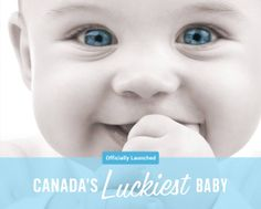 Everybody wants to give their child the world. Why not start with the world's greatest grand prize? Please Pin it for your friends that are expecting or have a newborn.   Get started at: canadasluckiestbaby.com!