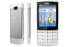 """Nokia X3-02 is company's first featurephone to come with innovative Touch and Type concept. The Nokia X3-02 Touch and Type is a new style of phone with both a touchscreen and an alphanumeric keypad. The Nokia X3 Touch and Type couples a quirky 4x4 key keyboard with a 2.4"""" resistive touch screen and Wi-Fi all in a candybar form-factor."""