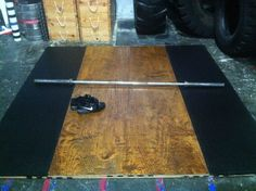 Build an Olympic Weightlifting Platform