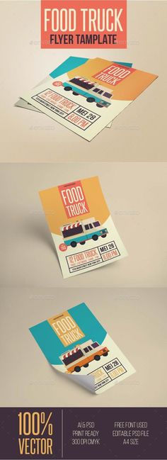 Food Truck Flyer Template PSD Download Here Httpgraphicriver - Food truck flyer template