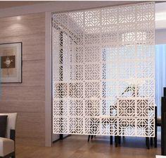 3D hanging partition