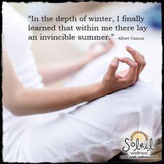 #quote Soleil Wellness Www.soleil-wellness.com