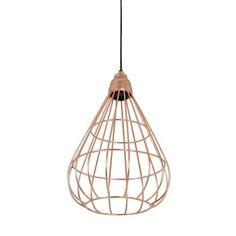 Tindell Pendant Light in Rose Gold - Casafina