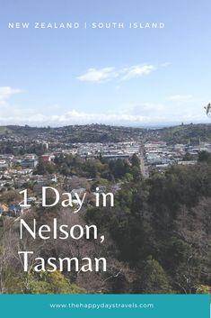 Read this ideal itinerary for 1 day in Nelson, New Zealand. Nelson is in the Tasman region of South Island New Zealand and a perfect stop on a New Zealand road trip or a day trip from Golden Bay. Find out the best things to do in Nelson and what to see in Nelson, New Zealand. Check out the best hostels in Nelson in this post too!  #Nelson #NewZealand #SouthIsland #tasman #Oceania #VisitNZ #TravelNZ #NewZealandTravel #TravelNelson #ExploreNelson #TravelBlog #1da Nz South Island, New Zealand South Island, Nelson New Zealand, Best Beaches To Visit, Working Holidays, New Zealand Travel, Best Places To Travel, Travel Couple, Carpe Diem